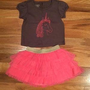 Pink Unicorn Tutu Outfit